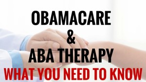 obamacare and aba therapy